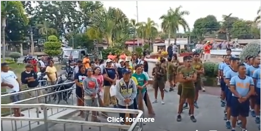 "Video: Briefing regarding the Clean up Activity ""Bayan ko Linis Ko"" in the municipality of Malita"