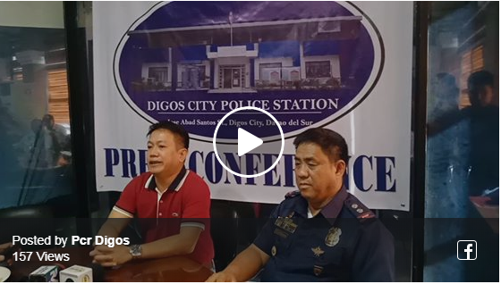 Video: Press Conference Mayor Josef F Cagas with PLTCOL ERNESTO P CASTILLO,Chief of Police