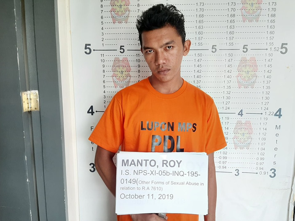 CHILD MOLESTER, ARRESTED