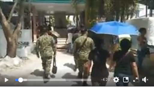 Video: PBgen Filmor B Escobal Conducts Random Inspection to Different Cemeteries in Davao City to ensure that corresponding security measures are being implemented.