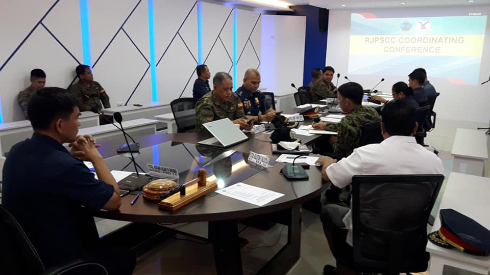 PRO 11 DRDO, PCOL Edgar Alan O Okubo presides The Regional Joint Peace and Security Coordinating Council at the PRO 11 Hinirang Conference Room, Camp Sgt. Quintin M Merecido, Buhangin, Davao City