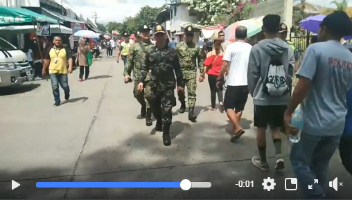 Video: RD PRO 11, PBgen Filmor B Escobal Conducts Random Inspection to Different Cemeteries in Davao City to ensure that corresponding security measures are being implemented