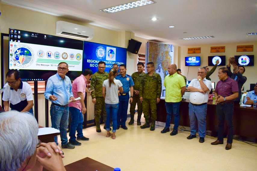 REGIONAL TASK FORCE TO END LOCAL COMMUNIST ARMED CONFLICT AND LAUNCHING OF OPERATION CENTER